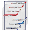 Air Portugal A350 liveries poster!