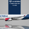 "Airbus A330-243 Air Serbia YU-ARB ""Nikola Tesla"""