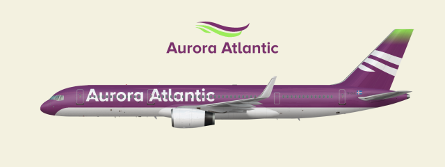 Aurora Atlantic Boeing 757-200