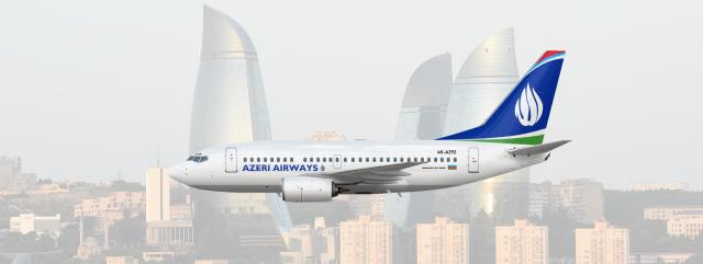Azeri Airways | Boeing 737-600 | 4K-AZ92 | 2009-present