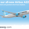Jetaway A220 promotional ad