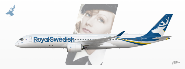 Royal Swedish Airways - Airbus A350-941