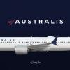 Australis | Boeing 737-9 | VH-KSA