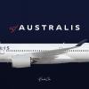 Australis | Airbus A350-900 | VH-FGA