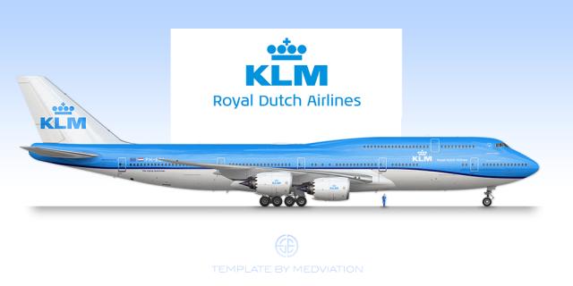 KLM, Boeing 747-8 Combi