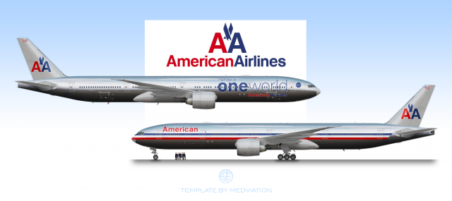 American Airlines 1967, Boeing 777-300ER