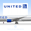 United Airlines, Boeing 767-400ER