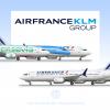 Air France KLM Group, Boeing 737MAX 8