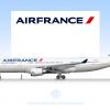 """Air France, Airbus A330-200 """"Crevette"""""""