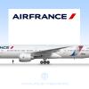 "Air France, Boeing 777-300ER ""JonOne"" F-GSQI"
