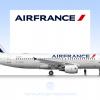 Air France, Airbus A320-200