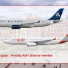 Volspain A330-200 poster