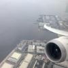 United 787-9 Wingview departing Tokyo Haneda Airport - HND
