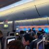Air China 787 cabin