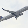 United 737 departing Newark