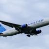 United 767-300ER N664UA Landing at JFK