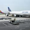United 747-400 at Beijing Capital Airport – PEK