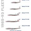 Transatlântico fleet (1985-1993)