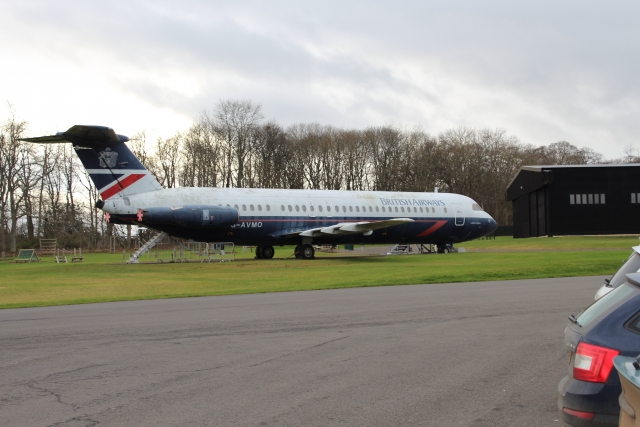 British Airways BAC 1-11-510ED G-AVMO