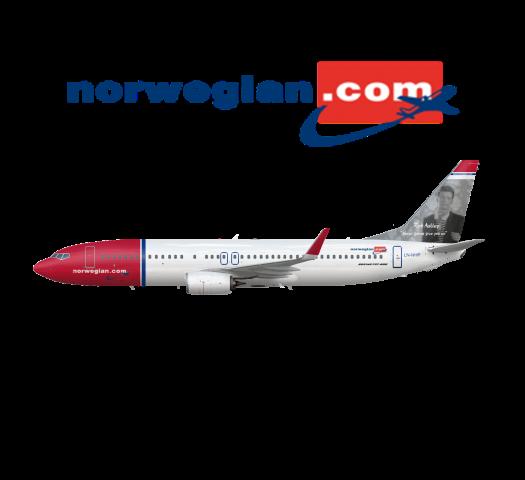 Norwegian Boeing 737 800 Rick Roll | LN-NHP