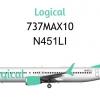 Logical Airways 737MAX10