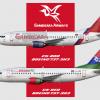 Gambisara 737-300 Fleet