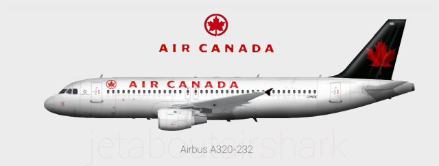 Image result for air canada black a320