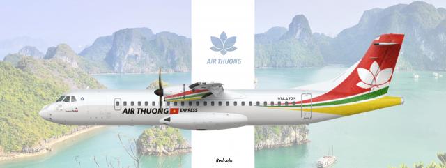 Air Thuong Express ATR-72 Clear Vision.