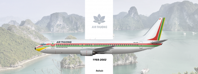 Air Thuong 737-400 (1988-2002 Livery)