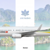 "Air Thuong 737-800 ""The lotus flower"" special livery"
