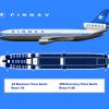 "Finnav - Finnish Airlines Douglas DC-10-30ER - Seat map ""1974-1985"""