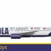NOLA Jet Airways 737 800 MK 2.1