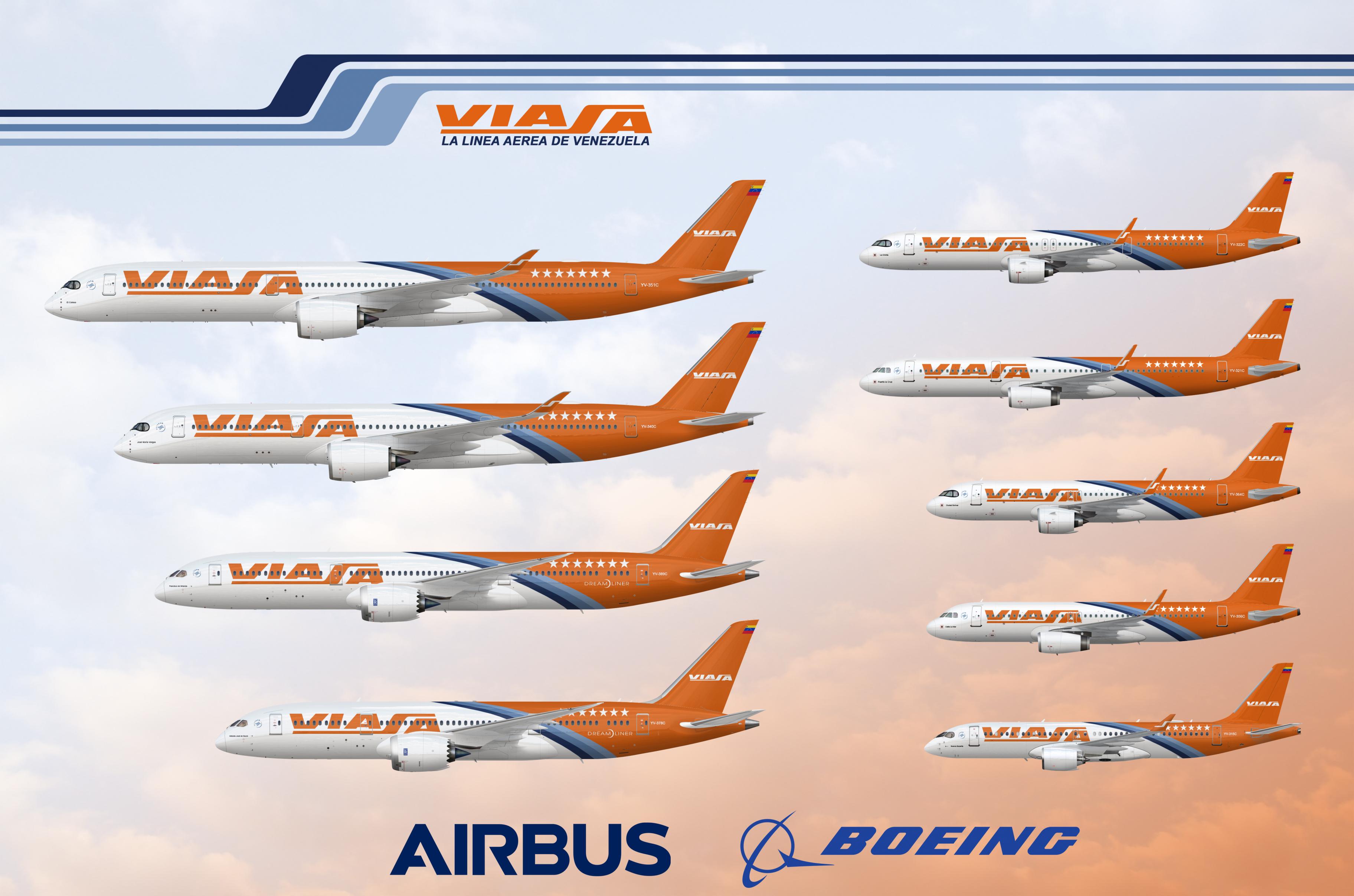Viasa Current Fleet