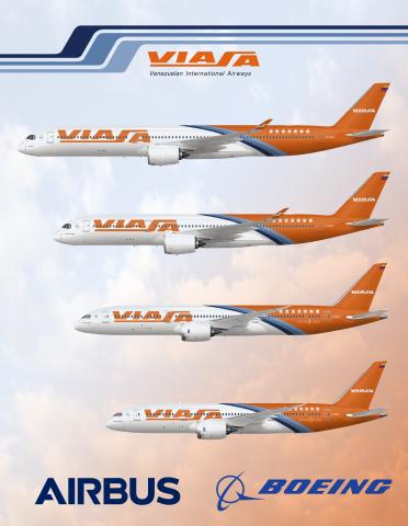 Viasa Long Range Fleet