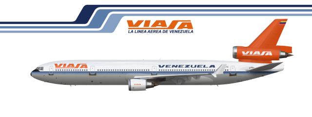 McDonnell Douglas MD 11 Viasa