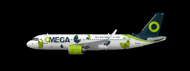 Airbus A320neo PT-OMS TODOS PODEM VOAR