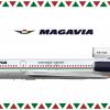 Magavia Tupolev Tu-154M