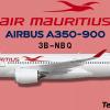 Air Mauritius Airbus A350-900 3B-NBQ