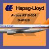 Hapag-Lloyd Airbus A310-300 D-AHLB