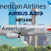American Airbus A319-100
