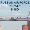 Russian Air Force Ilyushin Il-18D
