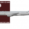 West American 757-200 2008-2014 livery