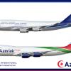 Azeriair-Judea B747F Poster
