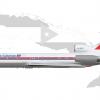 Tupolev Tu 154M - 1980