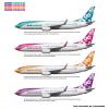 Air Hawaii | Colors Of Paradise Poster