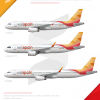 Volspain A320 family poster.