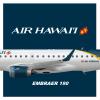 Air Hawaii | Embraer E190 | 2016 livery