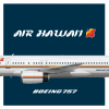 Air Hawaii | Boeing 757-200M | 1989 livery