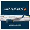 Air Hawaii | Boeing 757-200 | 2016 livery