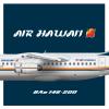 Air Hawaii | British Aerospace BAe 146-200 | 1989 livery